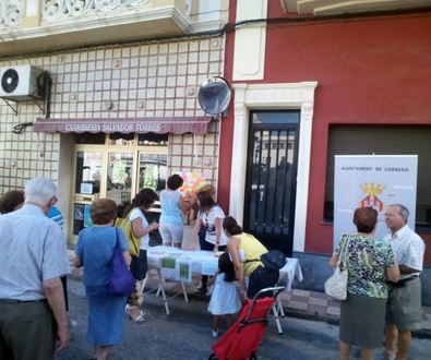 Optimes Senior participa en la primera campaña de sensibilización sobre el Alzheimer en Corbera