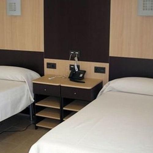Dormitorio del centro de mayores