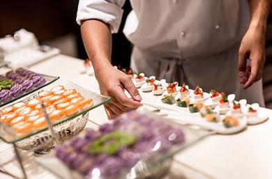 Los Chefs de Catering Domenico para empresas en Madrid