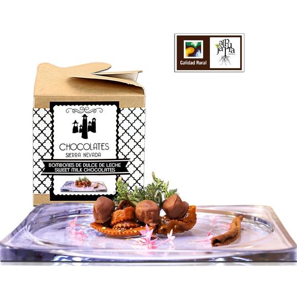 Bombones dulce de leche: Nuestros productos de Chocolates Sierra Nevada