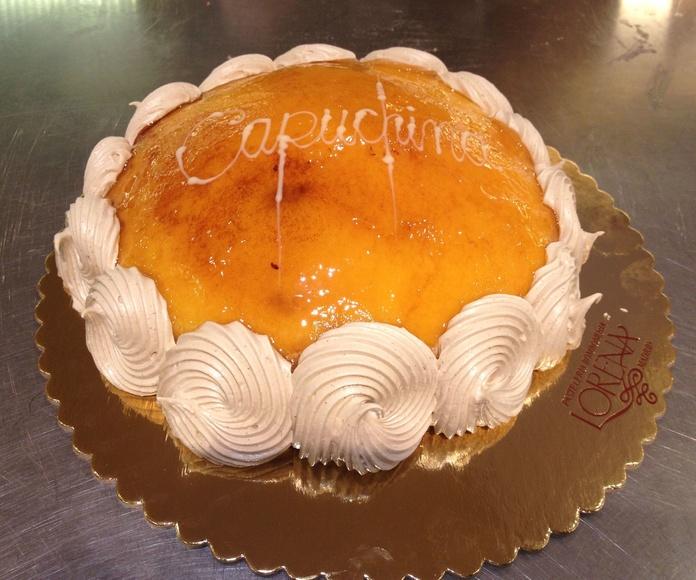 tarta capuccina