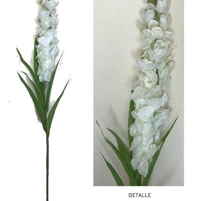 VARA DE DELPHINIUM (92cm)/ BLANCO REF: AM-008 (BLANCO) PRECIO: 1,75€/UD