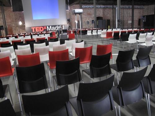 Acto en matadero Madrid TEDX2011