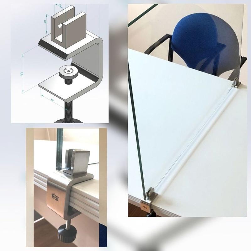 Mamparas divisorias: Carpintería  Aluminio Tenerife de Namiju Aluminios