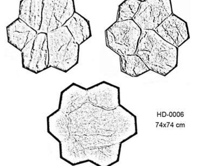 Las Varias Formas de Moldes de Piedra: Catálogo Pavimentos Impresos de Paviazahar, S.L.