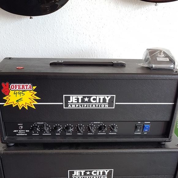 Amplificador válvulas guitarra Jet City barato, oferta, económico