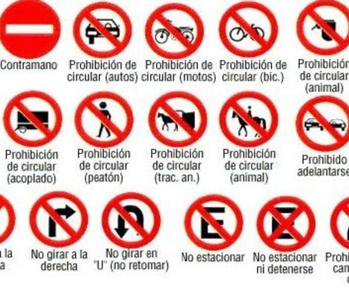 Señalización de prohibición