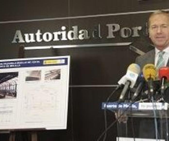 Miguel Marín, presidente de la Autoridad Portuaria