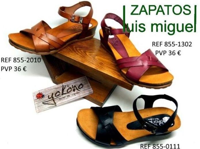 yokono sandalias modernas y comodas: Catalogo de productos de Zapatos Luis Miguel