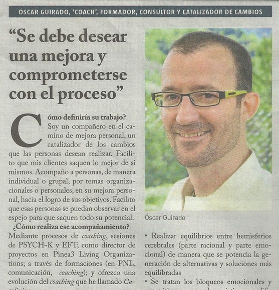 Entrevsita en La Vanguardia