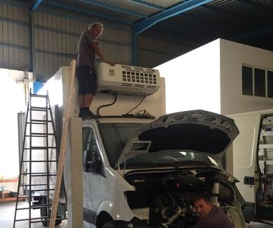 Venta,montaje y reparacion de equipos de refrigeracion del transporte
