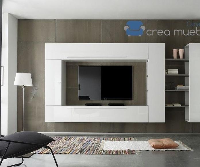 Salón Serie LINE: Productos de Crea Mueble