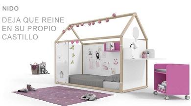 Camas nido multiforma de ROS ¡Casitas de ensueño diseñadas con la imaginación de tus hijos!