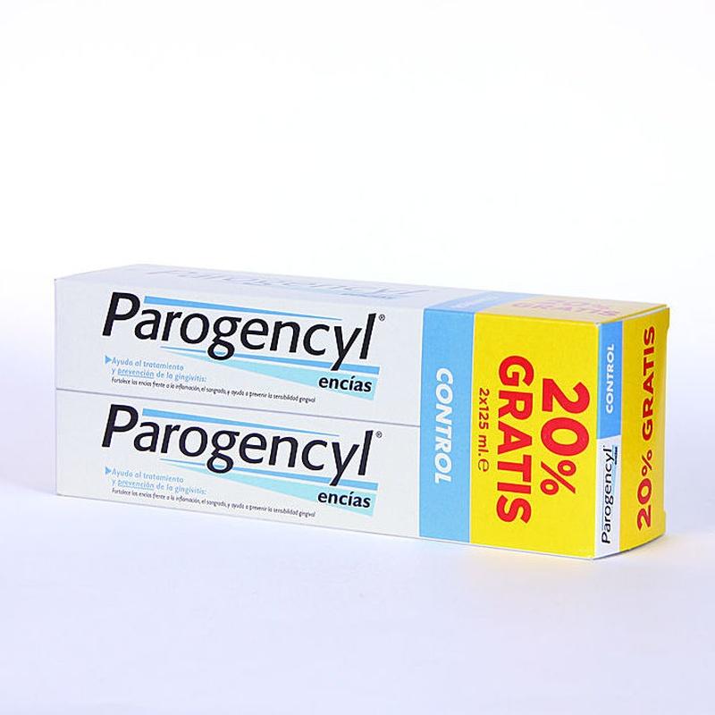 PAROGENCYL CONTROL DUPLO 125ML + 125ML: Productos y Servicios de Farmacia-Ortopedia Can Parellada