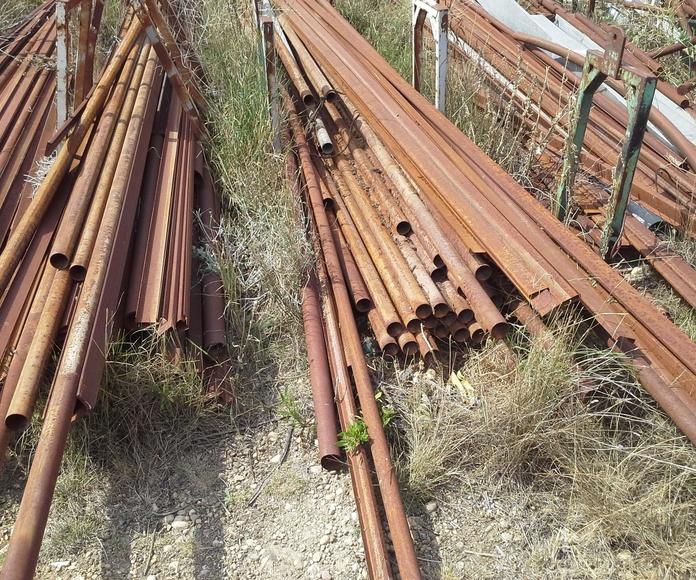 Hierros aprovechables en Chatarras Clemente de Albacete