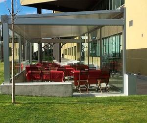 Cerramientos de terrazas de hostelería
