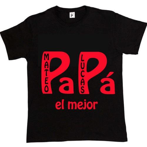 camisetas personalizadas para el Dia del Padre