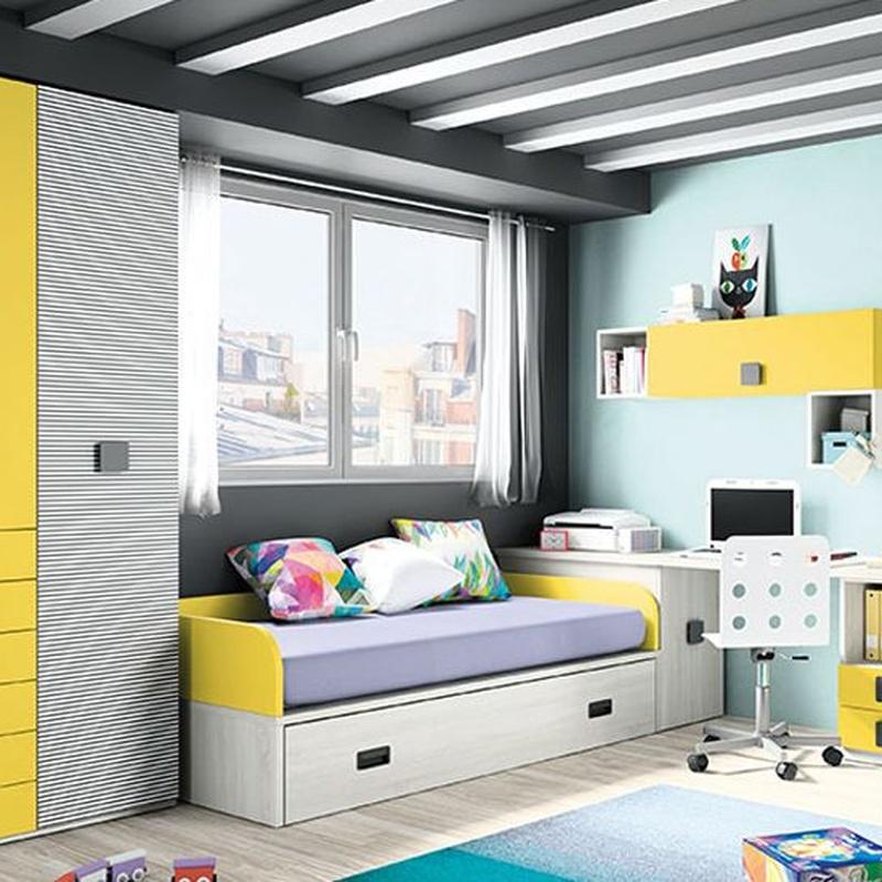 Dormitorio juvenil-infantil: Catálogo de Pepe Gálvez Mobiliario y Decoración