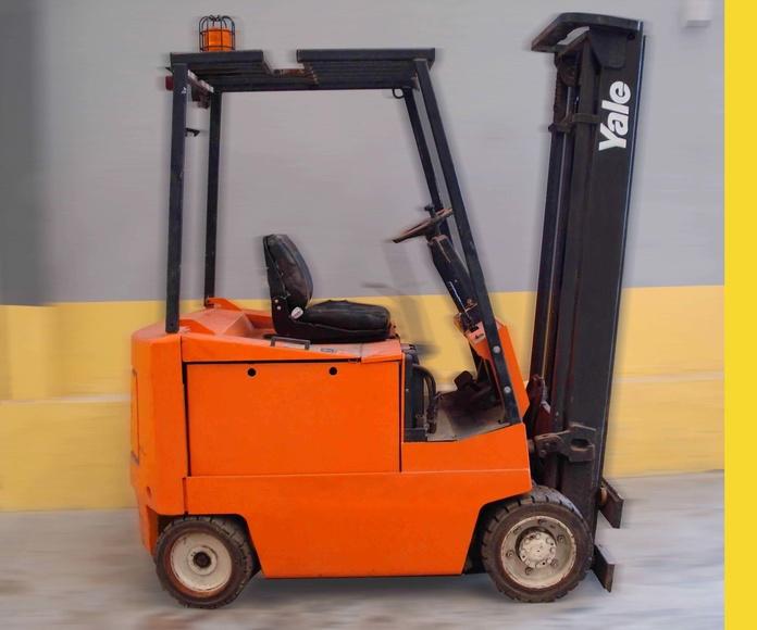 Carretilla eléctrica YALE Nº 5233: Productos y servicios de Comercial Euroyen, S. L.