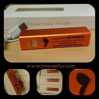 Power bank: un regalo ideal para tu empresa y económico en Asturias