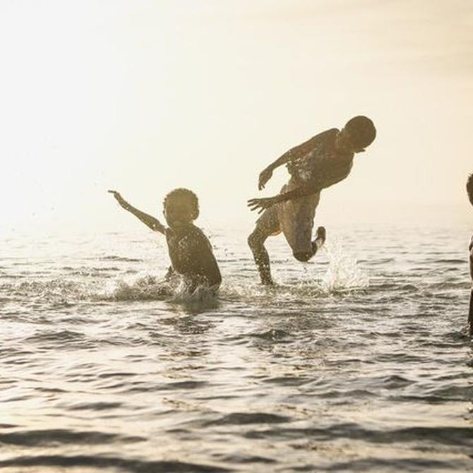 La salud de los niños en verano
