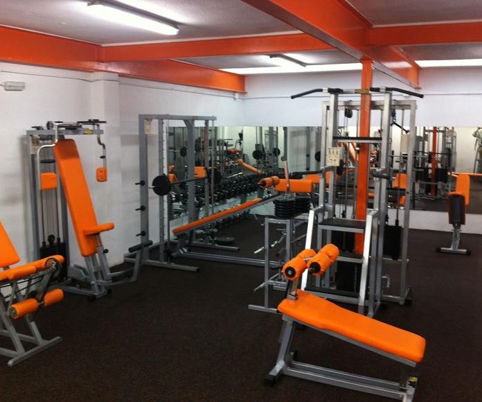 Musculación y Sala Cardio: Actividades de Club Natación Madrid Moscardó
