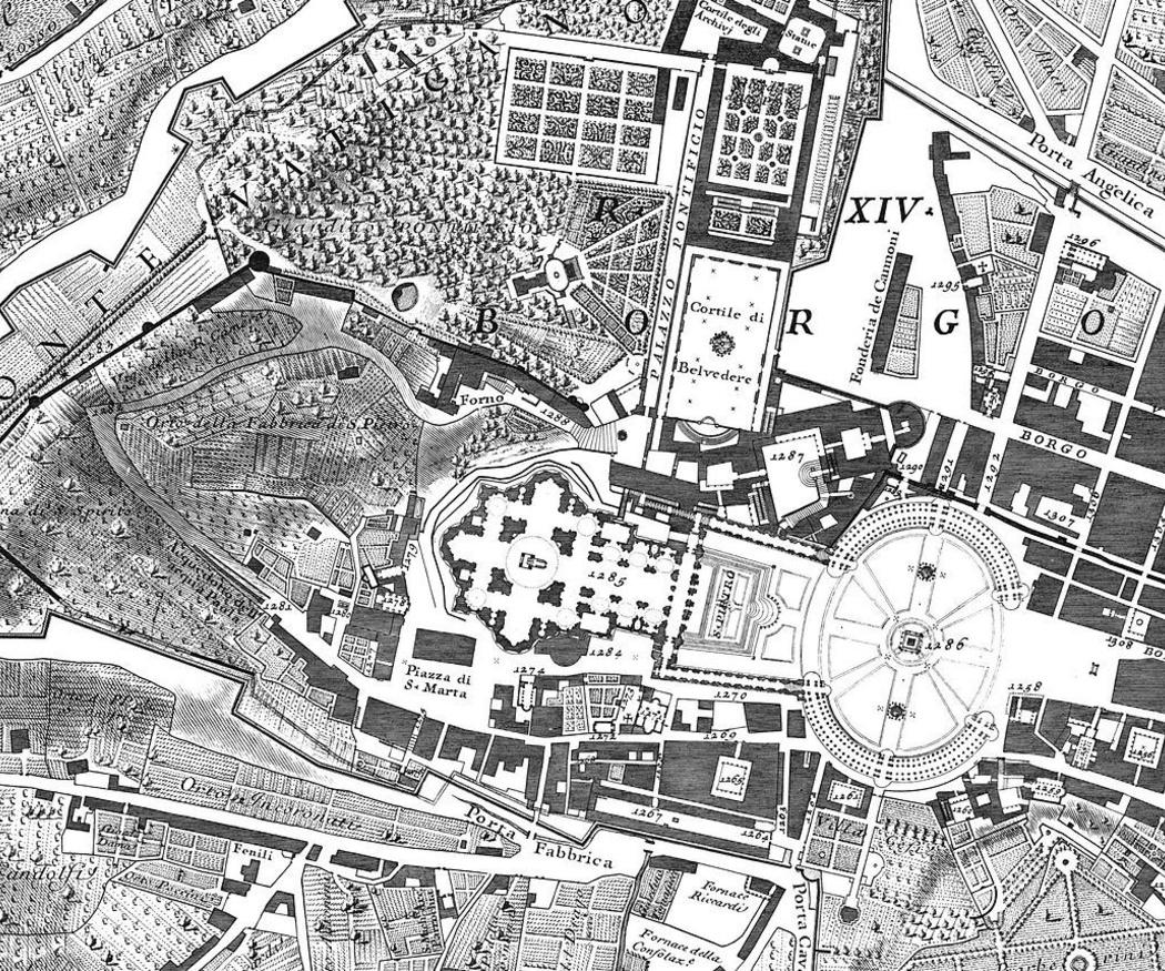 El extraordinario plano de Roma de Giambattista Nolli
