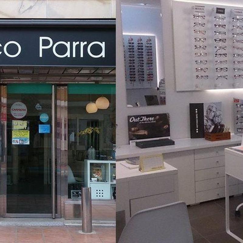 Examen visual: Servicios de Centro Optico Parra
