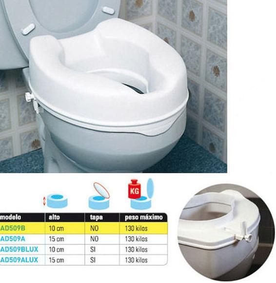 Elevador de WC sin tapa Asturias