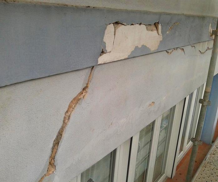 Reforma de fachadas en Torrelavega