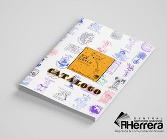 Adhesivos en Papel: Catálogo de Servicios Gráficos A.HERRERA