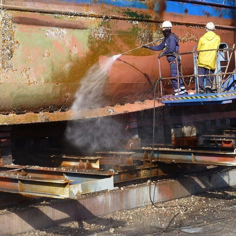 Mecánico naval: Productos y servicios de Pedro Ramos Mantenimiento y Reparación Naval
