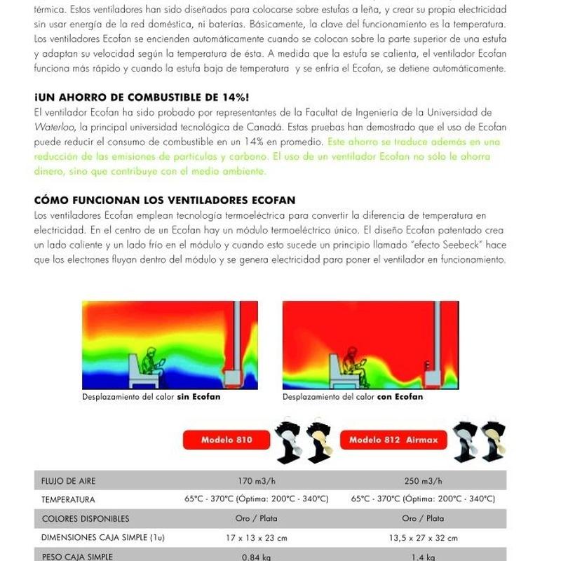 Ecofan: Catálogo de Chimeneas Ferrol