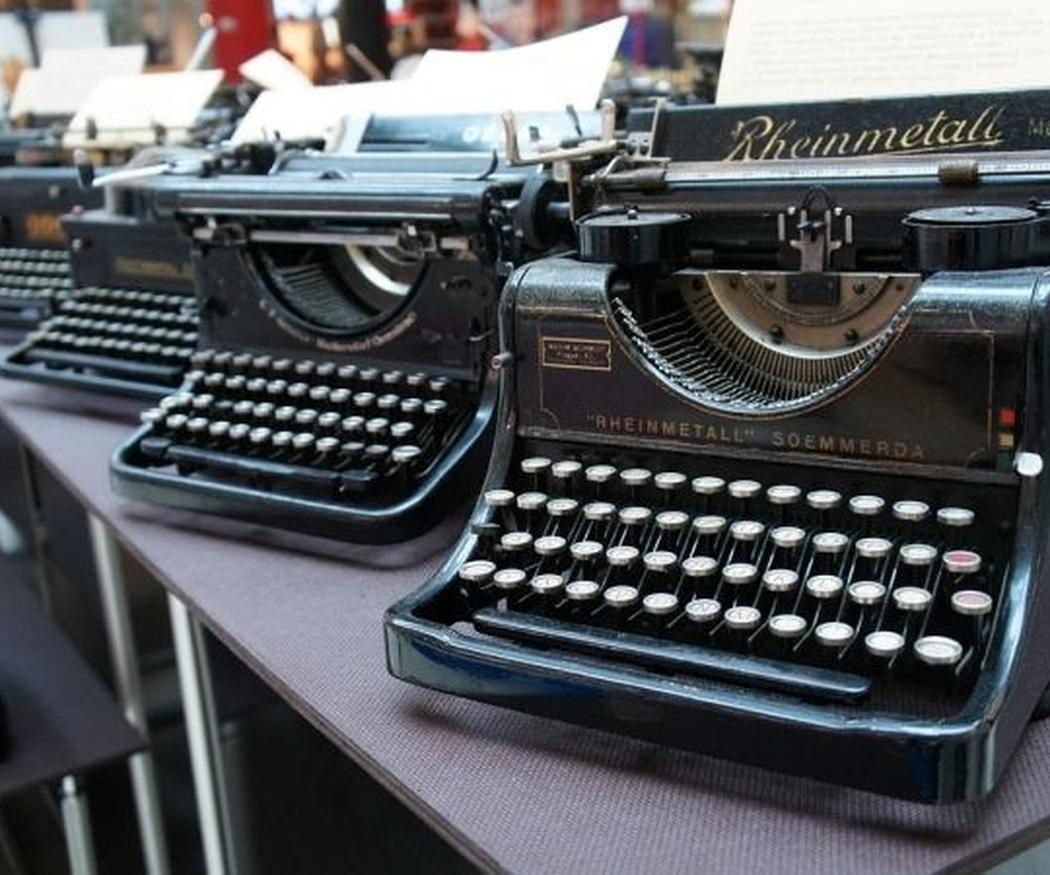 Las máquinas de escribir antiguas han vuelto para quedarse