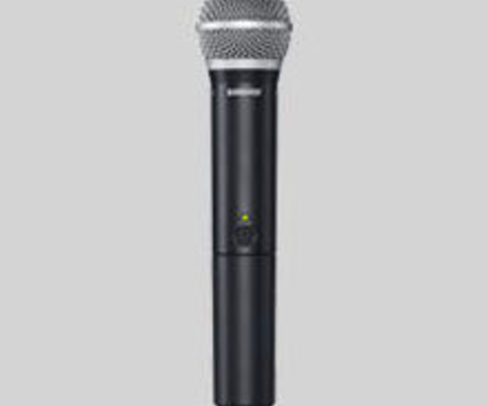 MICROFONO INALAMBRICO SHURE BLX24E/PG58-H8E: Nuestros productos de Sonovisión Parla