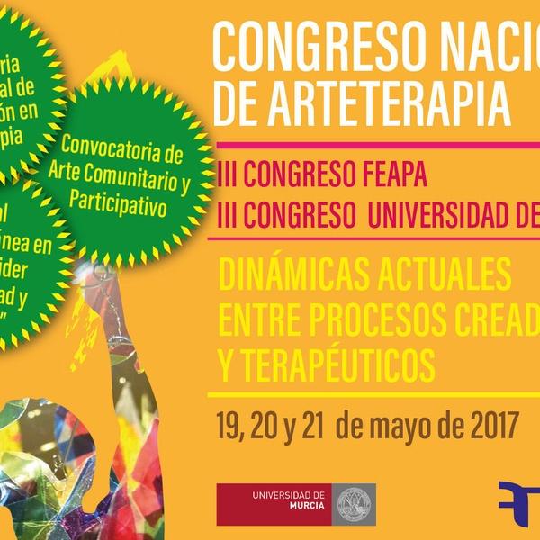 III Congreso  Nacional  de  Arteterapia. Murcia Mayo 2017
