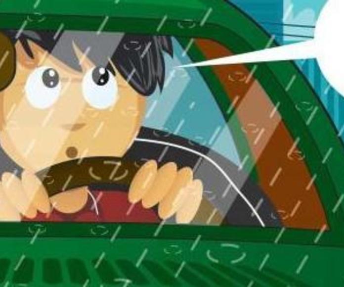 ¿miedo a conducir con lluvia?
