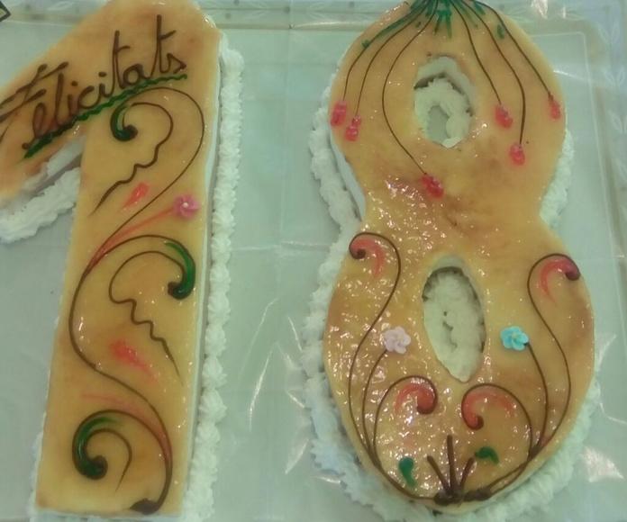 Tartas: Productos de Pastissería Negrell