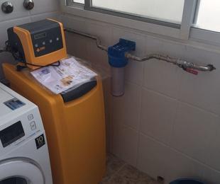 Instalacion de Descalcificador en acero INOX en Valencia