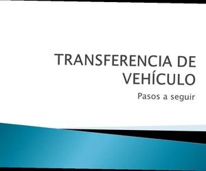 transferencia de vehículo