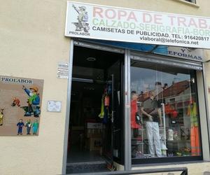 Tienda de ropa de laboral en Getafe