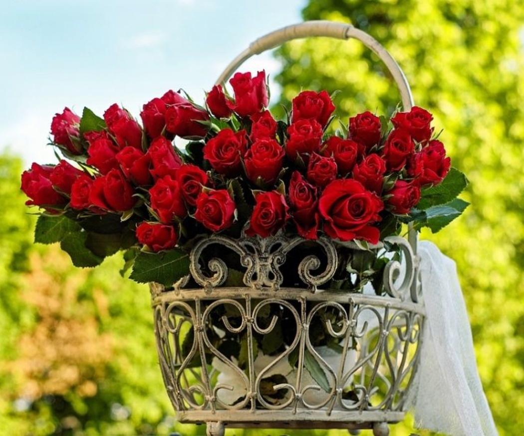 Las flores en la decoración