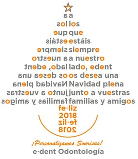 Feliz Navidad y prospero 2018
