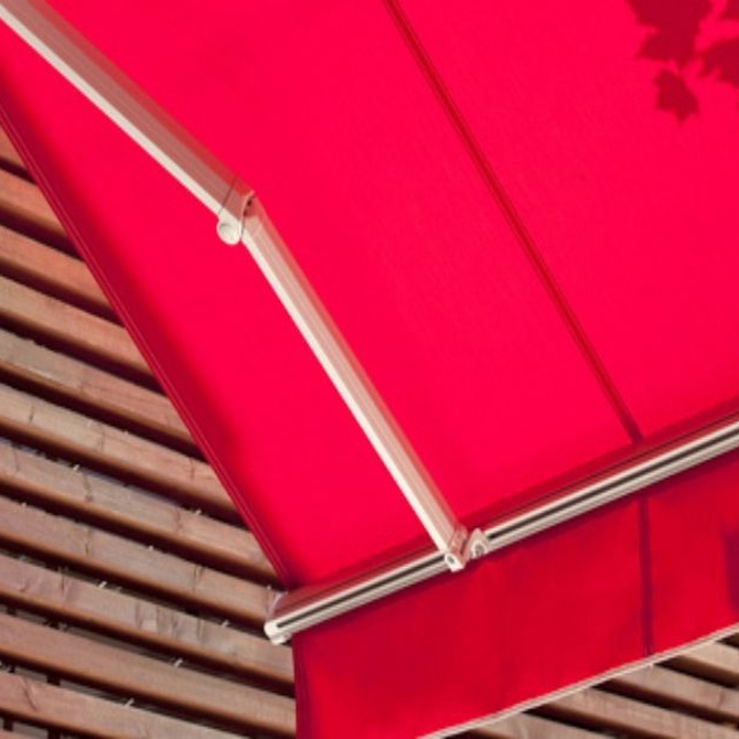 Tipos de tejidos para toldos