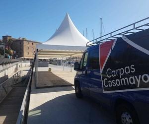 Todos los productos y servicios de Montaje, venta y alquiler de carpas y pagodas: Carpas Casamayor