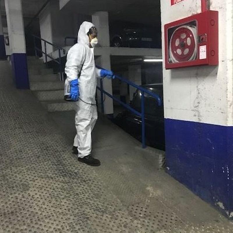 limpieza desinfección Covid-19 empresas