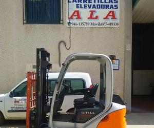 Carretillas en Calahorra | Carretillas Elevadoras A.L.A., S.L.