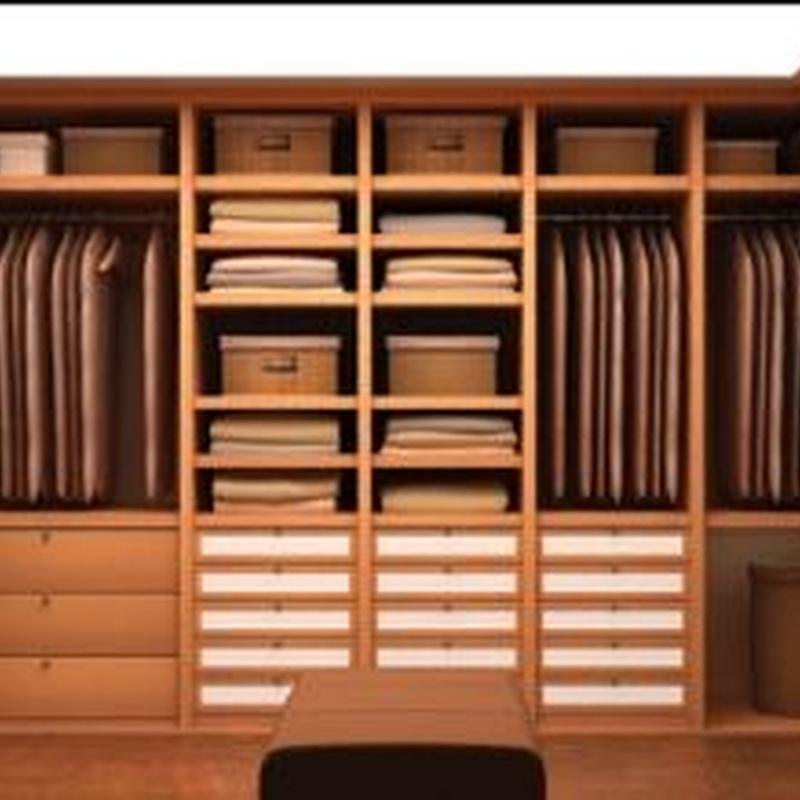 Interiores de armarios: Catálogo de Bilbo Armarios