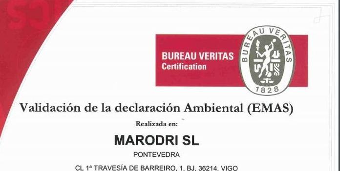 POLÍTICA DE CALIDAD Y MEDIO AMBIENTE - CERTIFICACIONES