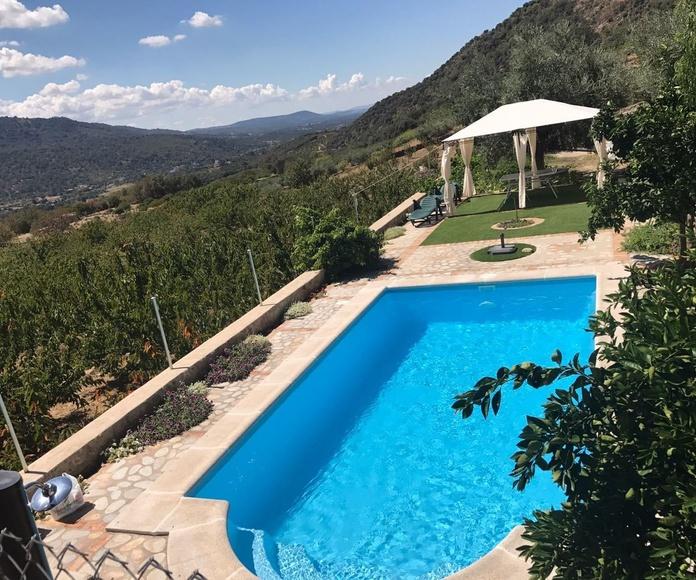 fabricación e instalación de piscinas prefabricadas en Cáceres y Badajoz